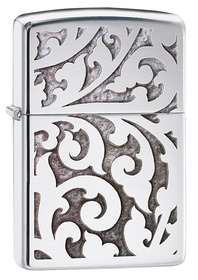 Zippo 28530 Filigree,  High Polished Chrome