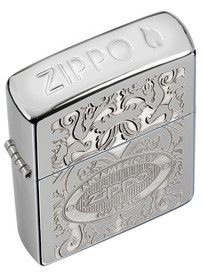 Zippo 24751 Gleaming Patina, High Polished Chrome