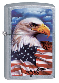 Zippo 24764 Mazzi, Freedom Watch, Street Chrome